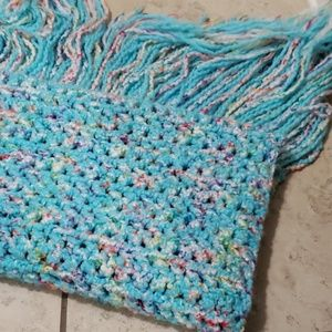 Knitted baby blanket/ throw